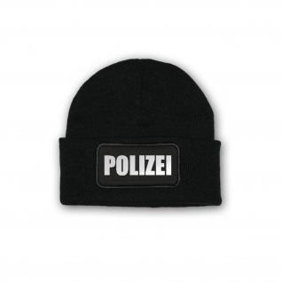 Mütze / Beenie Polizei Reflektierend Winter Mütze Kälteschutz Dienst #30208