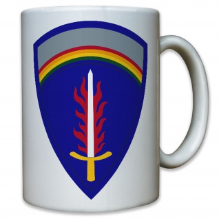 USAREUR United States Army Europe USA Amerika Wappen Emblem - Tasse #11781