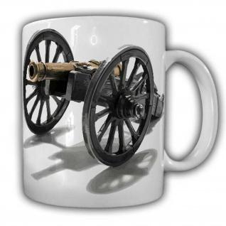 Kanonen Tasse Amerika Revolfer CSA USA Bürgerkrieg Waffe#22585