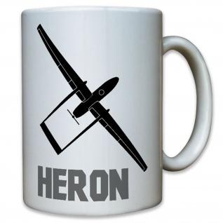 Heron Langstrecken Aufklärungsdrohne Drohne Israel Aufklärung Tasse #12347