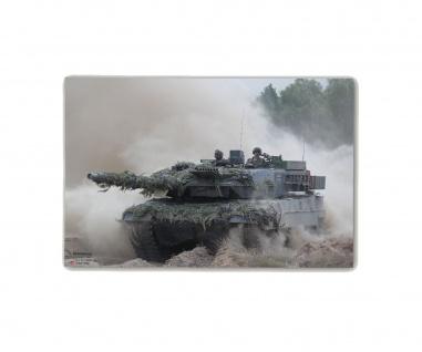 Poster M&N Pictures Verstaubte Panzer Leopard 2 Bundeswehr ab30x20cm#30241