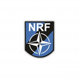 Aufkleber/Sticker Nato Response Force Wappen Abzeichen NRF 7x6cm A1115