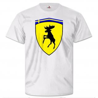 Elch Logo Schweden Autohersteller Wappen Kraftfahrzeug T Shirt #26231