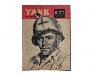 Poster US Yankee Army America Plakat Fineprint Sanitäter Medic ab 30x22cm #31067