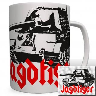 Jagdtiger Panzer Heer Kettenfahrzeug WK Bundeswehr Sonderkraftwagen Tasse #16646