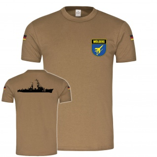 BW Tropen Mölders D186 Wappen Schiff Bundeswehr Marine Klasse 103 #21853