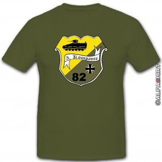 3 PzGrenBtl 82 Bundeswehr Deutschland Kompanie Grenadier - T Shirt #4152