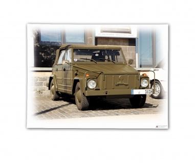 Poster Kübel 181 Kübelwagen Plakat Foto Oldtimer Bundeswehr ab30x22#30374