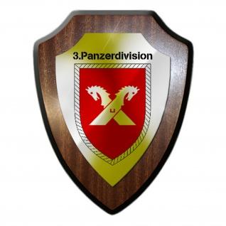 ABCAbwLehrBtl 210 Abwehrlehrbataillon BW Einheit Militär Wappenschild #19836