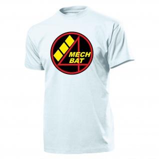 Schweizer Armee Mechbat4 Logo Wappen Abzeichen Bataillon- T Shirt #3761