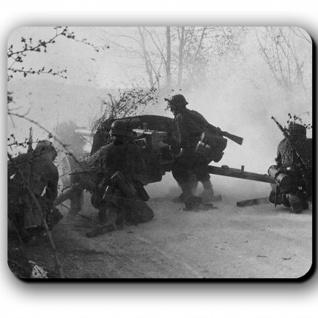 5cm Pak 38 Panzerabwehrkanone Deutschland Schuss - Mauspad Mousepad #13787