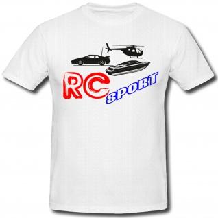 Rc Sport Modellbau Auto Drohne Fan Freizeit Hobby - T Shirt #908
