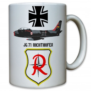 JG 71 Jagdgeschwader 71 Richthofen Jagdflieger Düsenjäger Luftwaffe Tasse #8786
