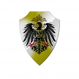 Aluschild Preußen Adler Heimat Schlesien Niederschlesien Polen Wappen #25633