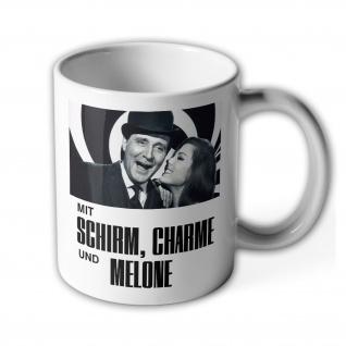 Tasse Mit Schirm, Charme und Melone Kaffee Becher #36328
