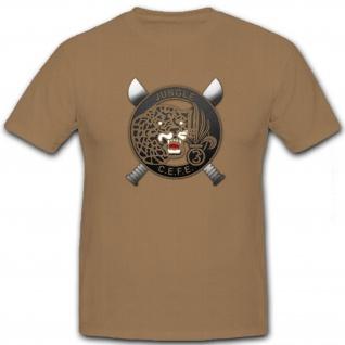 Jungle CEFE Fremdenlegion Legion Frankreich Soldaten Krieg - T Shirt #8301