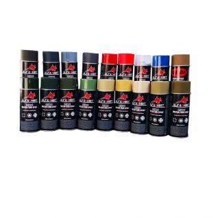 Militär Sprayfarben Farbspray Lack RAL Farben Bundeswehr Restaurieren