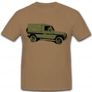 G Modell Geländewagen Bundeswehr Bundesheer Deutschland Fahrzeug - T Shirt #7359