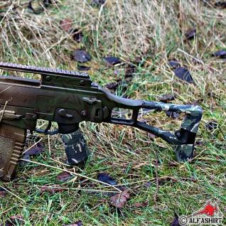 Tarnband Woodland Tarnung Waffe Gewehr Airsoft Tape Camouflage Klebeband #16377 - Vorschau 2