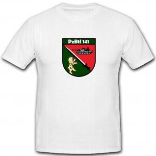 Pzbtl 141 Deutsche Bundeswehr Militär Wappen Abzeichen - T Shirt #4031