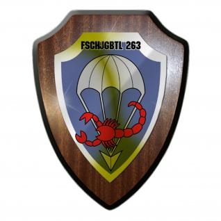 Wappenschild Fallschirmjägerbataillon 263 Wappen Abzeichen Emblem #34575