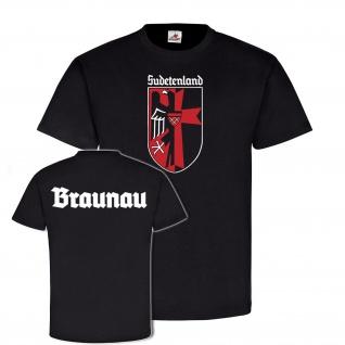 Braunau Sudetenland Sudeten Heimat Broumov Wappen Tschechien - T Shirt #25559