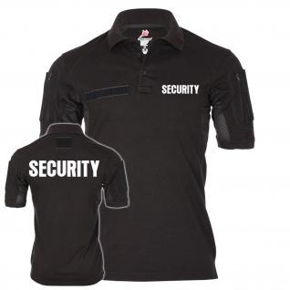 Tactical Polo SECURITY Sicherheitsdienst Ordner Hemd Bekleidung Uniform #21618