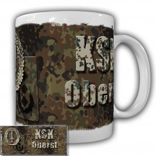 KSK Tasse Oberst der Kommando Spezialkräfte Bundeswehr Einheit Militär #20928