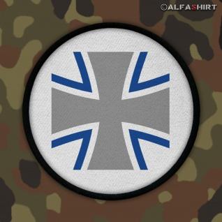 Patch / Aufnäher -Bundeswehr Kreuz Rund Deutschland Militär BW Eisernes #12461