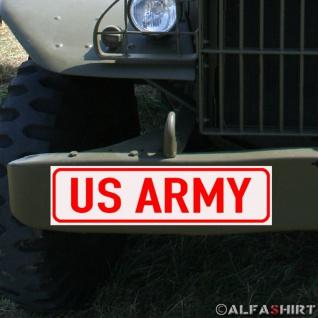 Magnetschild Army USA für KFZ Fahrzeuge #A189