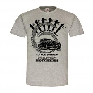 Hotchkiss Rallye Sieger Paris Monte Auto Oldtimer Herstelller Werbung #24926