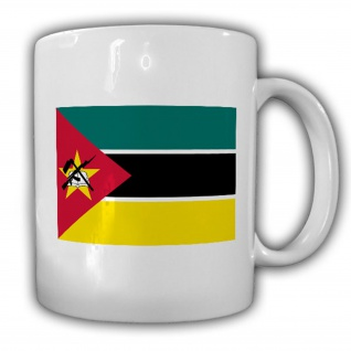 Republik Mosambik Fahne Flagge Kaffee Becher Tasse #13811