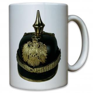 Pickelhaube Helm Preußen Deutschland Wk Adler Soldat - Tasse Kaffee Becher #9564