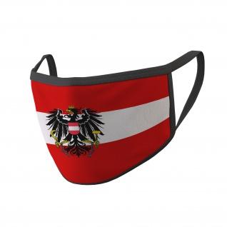 Maske Österreich Bundesheer Wien Adler Fahne Mund Flagge Austria #34670