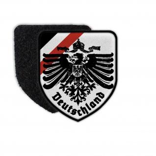Patch Deutschland 1WK Preußen WW1 Fahne Aufnäher#36038
