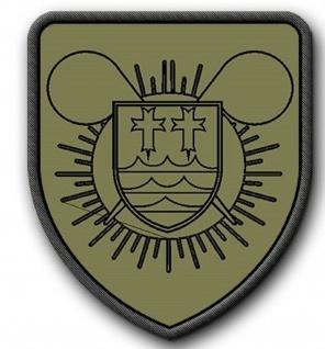 Patch ABC Abw Btl 110 Bataillon Bundeswehr Bund Bw #11063