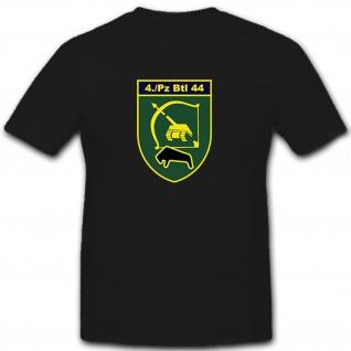 4PzBtl44 - Bundeswehr Panzerbataillon 44 Deutschland Militär - T Shirt #9059