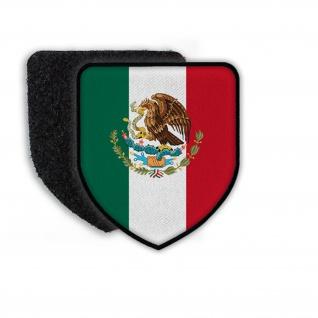 Patch Mexiko Adler Landeswappen Eichenlaub Flagge Schlange Peso Wappen #21934