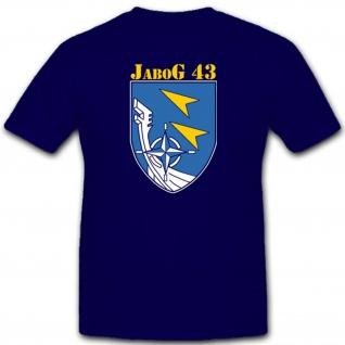 Jabog 43 Bundeswehr Luftwaffe Einheit Wappen Emblem Abzeichen T Shirt #2288
