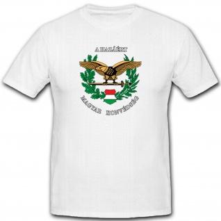 Ungarische Streitkräfte - Magyar Honv Militär Armee Wappen - T Shirt #11167