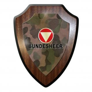 Wappenschild - Bundesheer Österreich Armee Militär Tarnmuster Bw #10012 w