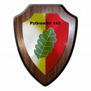 Wappenschild - PzGrenBtl 142 Panzergrenadierbataillon Bundeswehr Einheit #19165