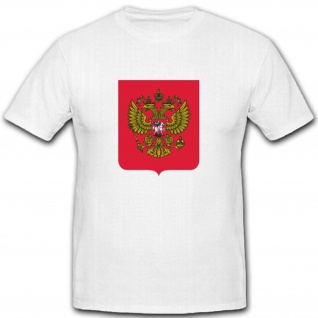 Russische Föderation Russland Vielvölkerstaat Wappen Abzeichen T Shirt #2646