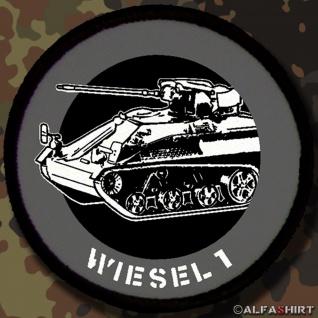Patch / Aufnäher - Wiesel Bundeswehr Bund Bw Panzer Militärfahrzeug #12806