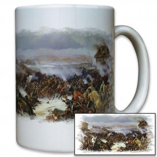 Schlacht von Narva zwischen schwedischen Königs Karl XII Tasse #12536