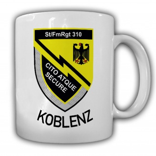 St-FmRgt 310 Typ 2 Stab Fernmelde Regiment 310 BW Deutschland Tasse #15329