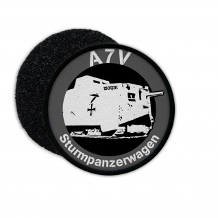 Patch A7V Panzer Sturmpanzerwagen Wotan Tank Abzeichen Besatzung Aufnäher #23240