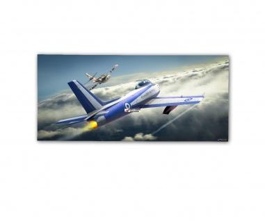 Poster rOEN911 F-86E D Canadair CL-13A-2 Sabre Air Force ab30x14cm#30388