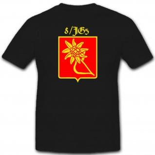 8 Jagdgeschwader 5 Luftwaffe 8 Jg5 Militär WK WH Abzeichen T Shirt #2482