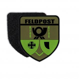 Bundeswehr KFOR Feldpost Patch Militär Nachrichtendienst Post Einheit #33815